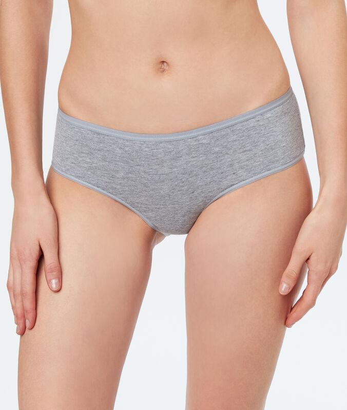 Kalhotky shorty z bavlny šedá.