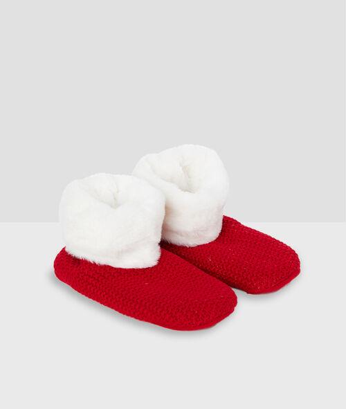 Kožešinové ponožky