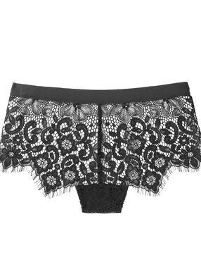Krajkové nohavičkové kalhotky černá. 1f6a063d46