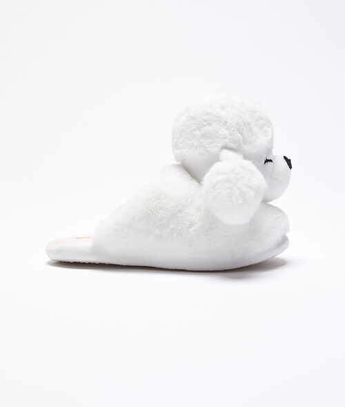 Pantofle s 3D pudly