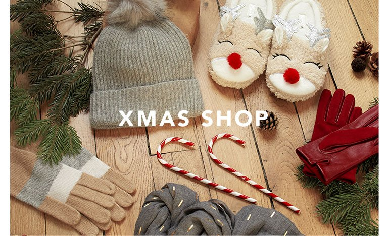 The christmas shop