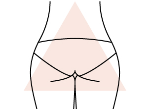 Guide de la culotte by Etam - Fesses en A